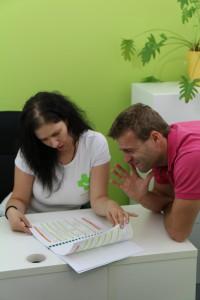 Poradci analyzují klientův zdravotní stav